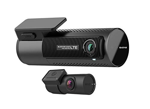 BlackVue DR750-2CH LTE (128 GB) UK Edition - 4G Cloud-Connected Front/Rear Full HD Dash Cam with 60fps Video, Wi-Fi, GPS, Bluetooth, Parking Mode and FREE Vodafone V-Sim Card