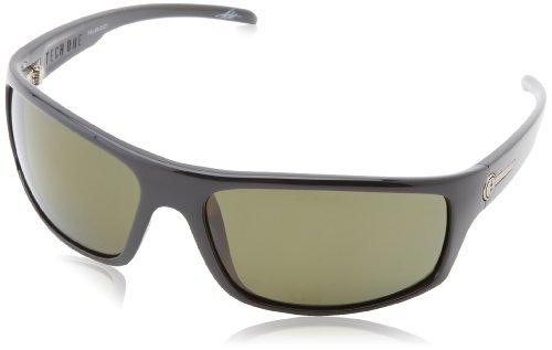 Electric California Tech One Wrap Sunglasses, Gloss Black, 164 mm