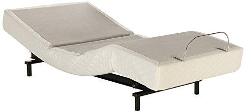 Adjustables by Leggett & Platt S-Cape Adjustable Bed Base, Wireless, Wall Hugger, Massage, Zero Gravity, Full