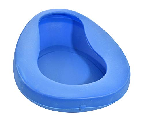 HOME-X Home Health Care Medical Supplies, Bedpan Seat Urinal for Bedbound Men and Women