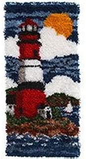 Caron WonderArt Latch Hook Rug Kit - Lighthouse