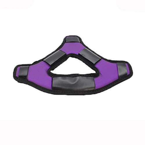 Comfortable Headband VR Head Strap Fits for Oculus Quest 2 Gaming Headset Reduce Head Pressure Protect Head Pad (Purple)