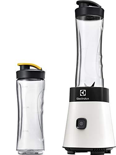 Electrolux esb2630 Mixeur en verre 0.6L 300 W Noir, Blanc – Blender (Mixeur de Vase, 0,6 l, noir, blanc, acier inoxydable, 300 W, 128 mm)
