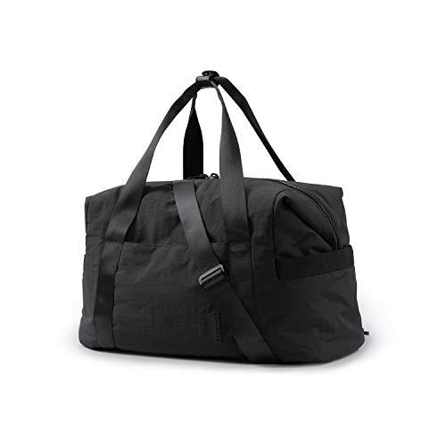 Weekender Bag, BAGSMART Travel Duffle Bag Carry On Bag Large Overnight Bag for Women, Black