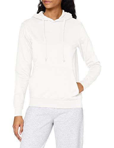 Stedman Apparel Hooded Sweatshirt/ST4110 Sudadera, Blanco, 38 para Mujer