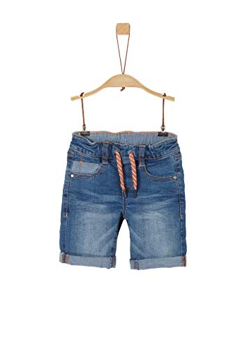 s.Oliver Junior Jungen 404.10.004.26.180.2037951 Jeans-Shorts, Blue, 128