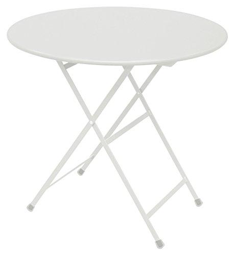 Emu Arc en Ciel Ronde Table Pliante Ø cm. 80 Couleur Blanc Code 23