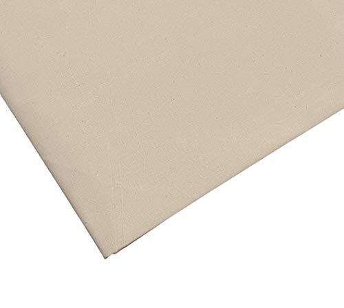Leichte, 100 % Baumwolle, natürliches Kaliko, 160 cm, extra breit, 3 m