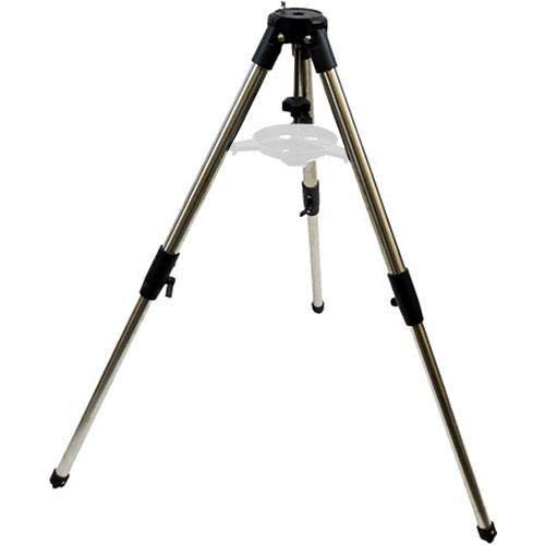 "iOptron 1.5"" 2 Section Stainless Steel Tripod for CEM25/ZEQ25/SkyGuider Mounts, 28.3"" Maximum Height"