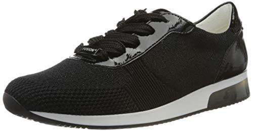 ara Damen LISSABON Sneaker, Metallic, Schwarz 05, 39 EU (6 UK)