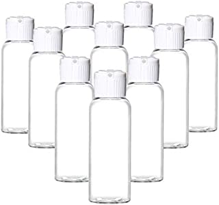 Grand Parfums Empty Plastic Squeeze Travel Bottles w/Dispensing Caps, Purse, Pocket Desktop Kids 1 Oz 30ml for Hand Cleaning Gel, Soaps Lotion, Shampoo purse pocket w/WHITE SPOUT Cap (100 Bottles)
