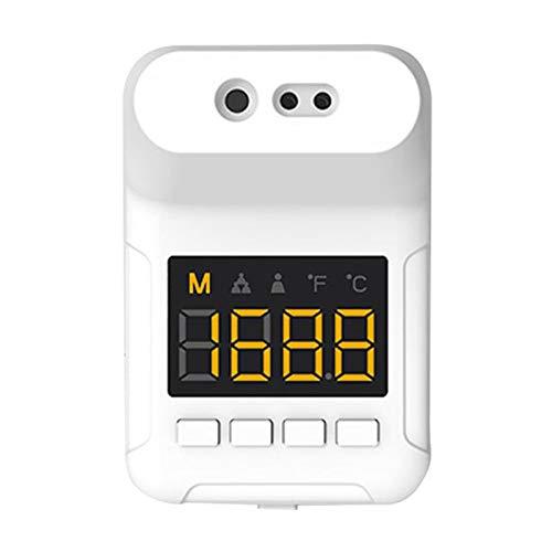 Baoblaze aan de muur gemonteerde lichaam thermometer, industriële automatische handvrije lichaam thermometer temperatuurscanner, 0.5s snel meten niet-contact
