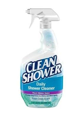 2 Pk. Scrub Free Clean Shower Daily Shower Cleaner 32 fl oz (64 fl oz Total)