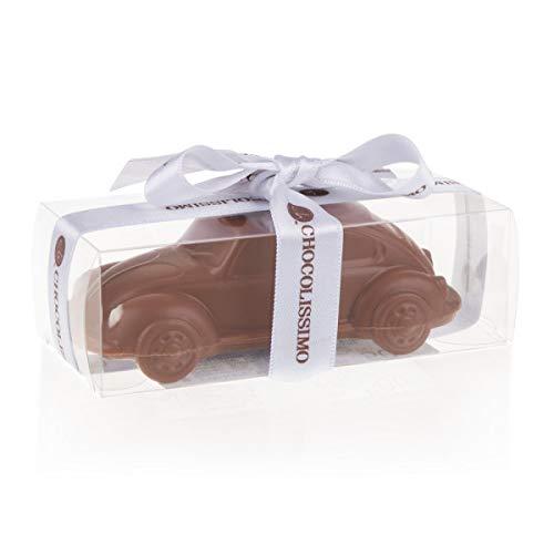 VW Beetle Mini - Schokolade - Schokoladenauto - Geburtstagsgeschenk   Auto aus Schokolade   Geschenk für Autoliebhaber   Erwachsene   Kinder   lustige Geschenkidee   Mann   Frau   Vatertag   Muttertag