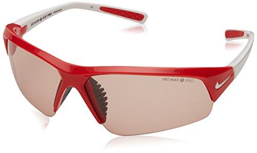 NIKE Skylon Ace Pro PH - Gafas de sol, Mujer Hombre, EV0699-616, Hyper Rojo/Blanco, 69 mm