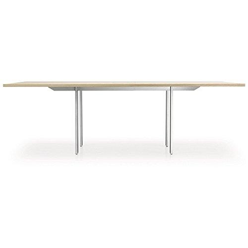 Girsberger Adapt Konferenztischsystem, konfigurierbar - Bootsform | 3200 mm | Asteiche