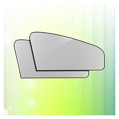Vernacular Ajuste a un par de automóviles Auto Plegable Frontal de Parabrisas Visa magnética Espesada Sol Sombra Calor Reflectante Sol Visor - Inclinado (Color : As Shown)