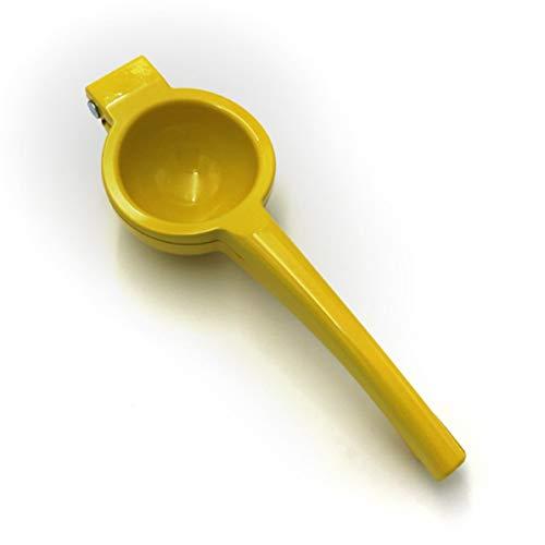 Longspeed Exprimidor de Frutas a presión Manual de aleación de Aluminio Exprimidor de limón Exprimidor de limón Naranja cítrico Gadgets de Cocina para el hogar - Amarillo