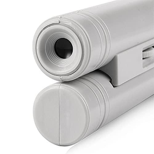 LUYIPINGQIWND Handheld-Lupe 100x Taschenmikroskop-LED-Lampe Light Schmuck Lupe-Lupe zur genauen Inspektionsmessung