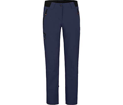 Bergson VIDAA Comfort | leichte Damen Wanderhose, Peacoat Blue [368], 38 - Damen
