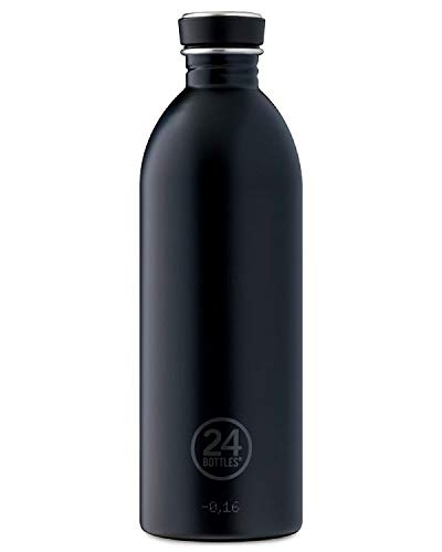 24bottles Urban Gourde unisexe pour adulte, adulte mixte, 37, Tuxedo Black, 1000 ml