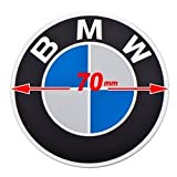 New Logo Round Emblem Compatible With BMW Motorcycles 70mm 46 63 7 686 746