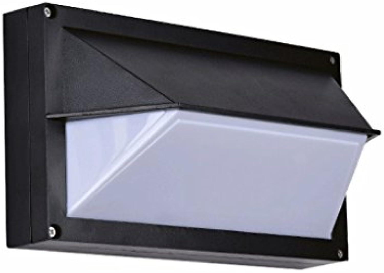 QZz Im Freienwand beleuchtet Wasserdichte Hotel-Ganglichter Auenwandleuchten (Farbe   Schwarz)