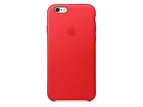 Apple Leder Case (iPhone 6s), Rot