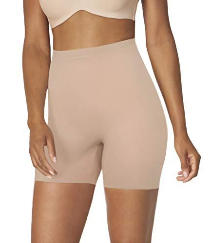 COMFREE Bragas Anti Roces Braga Faja Reductora Mujer Adelgazante Abdomen Shapewear Lenceria Mujer Pantalon Faja Antirozaduras Beige S