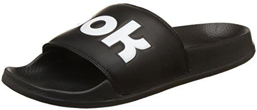 Reebok Classic Slide, Zapatos de Playa y Piscina Unisex niño, Negro (Splt/Black/White 000), 37.5 EU