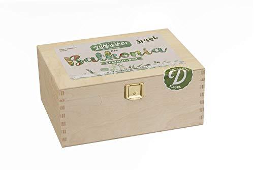 Saatgut Dillmann S35 Balkonia Saatgut-Box S (Holzbox) (Samen-Set)