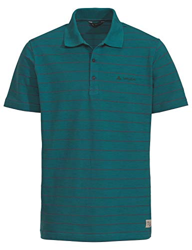 VAUDE Herren T-shirt Men\'s Labisco Polo, Poloshirt, petroleum, 50, 413499835300