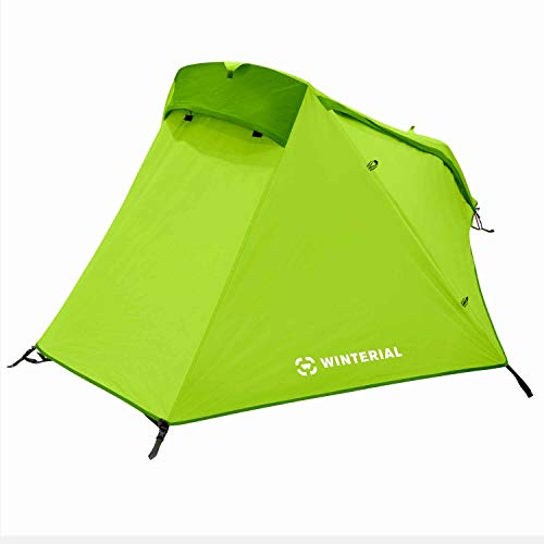 Winterial Single Person Lightweight Bivy Tent, 3 Pounds 9 Ounces for Backpacking and Camping, Green