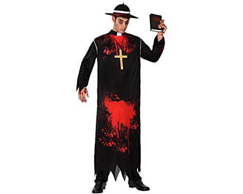 ATOSA disfraz cura sangriento hombre adulto zombie M