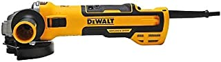 DeWalt Angle grinder (1500 watt, 125 mm with speed electronics, with soft start and zero voltage protection) DWE4257-QS