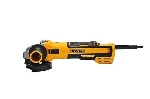 DeWalt Amoladora angular (1500 vatios, 125 mm con electrónica de velocidad, con arranque suave y protección de voltaje cero) DWE4257-QS
