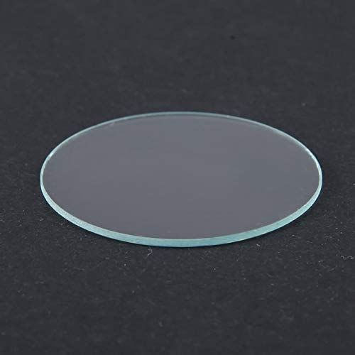 Lente de reloj, cristal de reloj plano, lente de reloj de cristal plano, lente de reloj resistente a los arañazos, 37/38/39 MM para reparación de relojes de tienda de relojes(39mm)