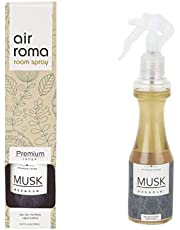 AirRoma Musk Essence Premium Air Freshener Spray 200 ml for Luxurious Experience in Home, Car and Office…