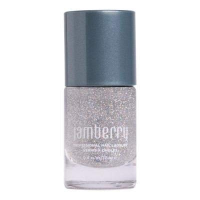Touch of Sparkle Top Coat - Jamberry Nail Lacquer - Salon-Quality Nail Polish - 0.4 Ounce Bottle