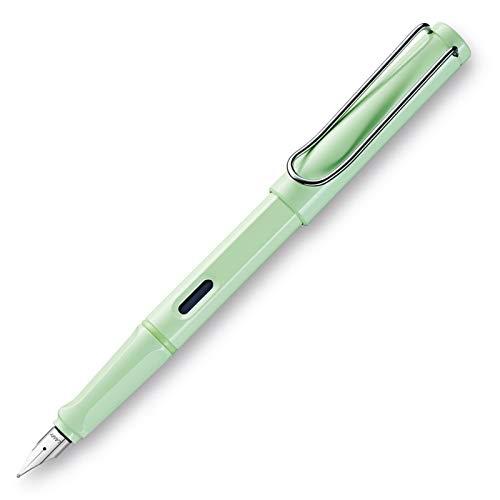 LAMY safari Füllhalter 036 – Moderner Füller in der Farbe Mint mit ergonomischem Griff und zeitlosem Design – Federstärke M
