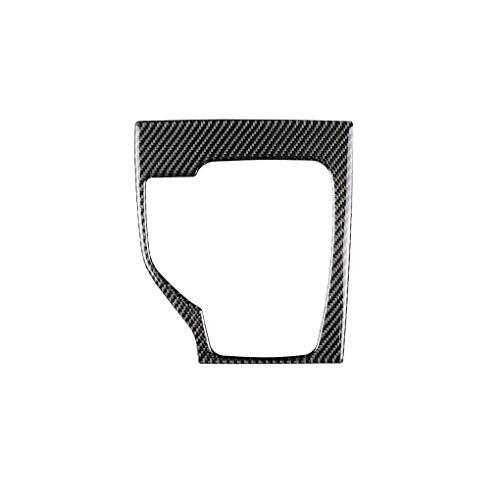Floridivy Ersatz für Mazda 3 Axela 2013-2016 Auto-Gangschaltung-Schaltfeld Box Abdeckplatte Trim-Carbon-Faser-Dekor-Aufkleber LHD