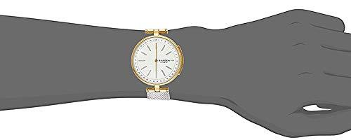 スカーゲンSKAGEN腕時計レディースSKT1413ハイブリッドスマートウォッチシグネチャーSIGNATURクォーツホワイトシルバー[並行輸入品]