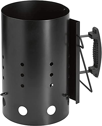 Dynamic24 XL Anzündkamin 31cm Schnellanzünder Grillkohle Grill Kohle Anzünder Grillstarter