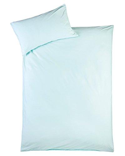 Julius Zöllner 8460147603 Parure de lit en jersey turquoise