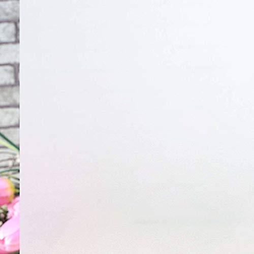 MINYU Esmerilada Película De Ventana, Vinilo No Hay Pegamento Vinilos para Cristales para Oficina Baño Ventana De Privacidad-UNA-40x200cm(16x79inch)