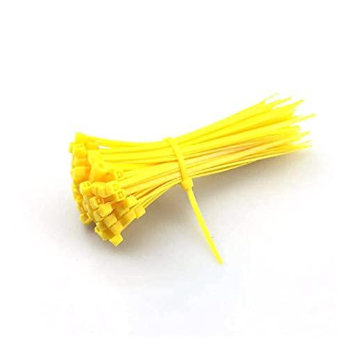 JJSCCMDZ Brida de Nailon para Cables 100 unids 3x100mm Cables de Nylon...