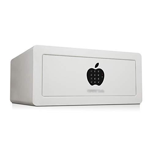 WYZBD Caja Fuerte, de Acero hogar Inteligente Caja Fuerte Fuerte Pequeño Antirrobo Archivo Oficina Caja de la Cerradura 20 × 43 × 35 cm
