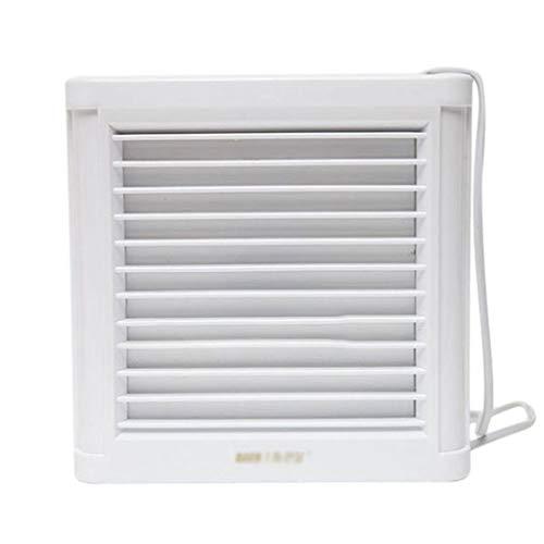 STRAW Ventilador de Techo con escudete de Cocina de baño de Alta Velocidad de Montaje en Pared Ventilador de Escape Ventilador de ventilación Ventilador eyector de Aire Fresco