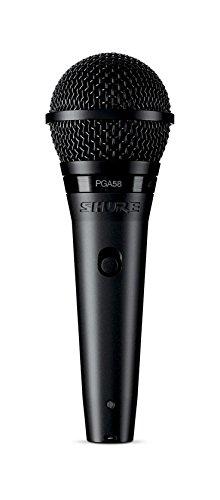 SHURE PGA58 - Micrófono dinámico cardioide para voz con cable XLR a XLR