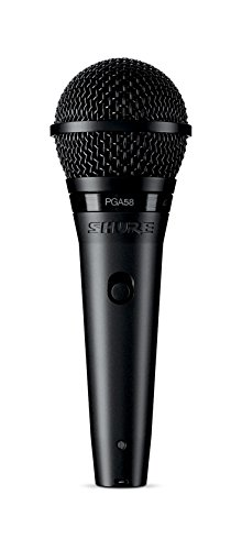 Best Value: Shure PGA58-XLR Cardioid Dynamic Vocal Microphone